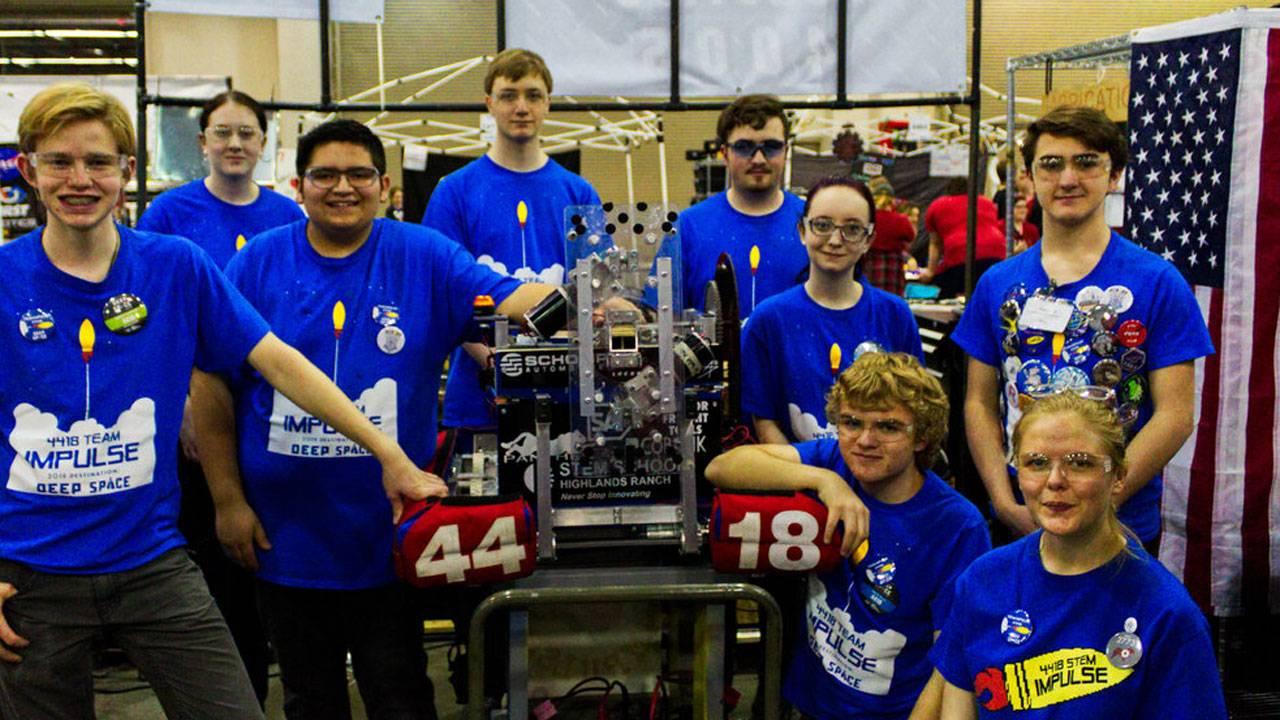 Kendrick Castillo robotics team