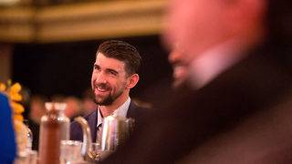 Michael Phelps: 'I'd like to be able to save a life if I can'