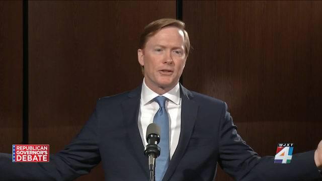 Adam Putnam at Jacksonville debate