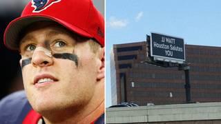 JJ Watt honored with billboard on 59&#x3b; Houston Texans star says city&hellip&#x3b;
