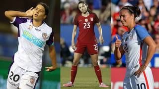 Dash trade Carli Lloyd to Sky Blue FC for Christen Press in three-team&hellip&#x3b;
