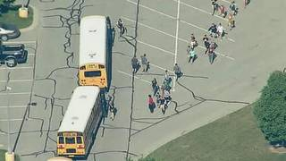 'Active shooter' taken into custody at Indiana middle school