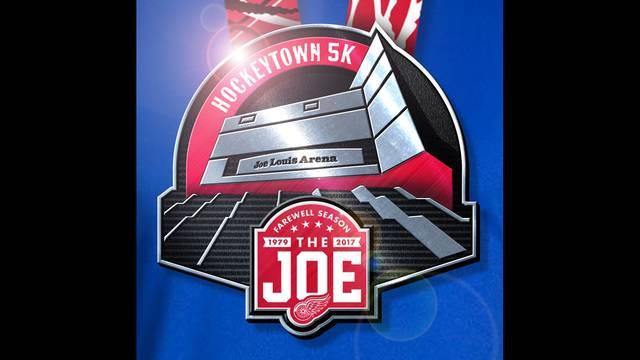 Hockeytown 5K medal