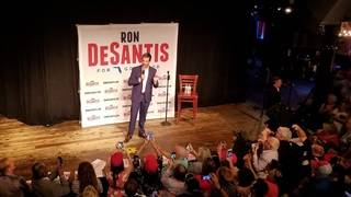 Pictures: Gubernatorial candidate Ron DeSantis hosts rally in Orlando