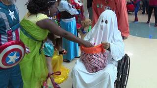 Patients at Children's Methodist celebrate Halloween early