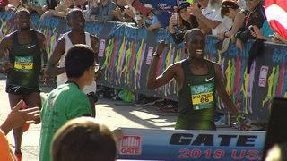 Gate River Run male winner Shadrack Kipchirchir