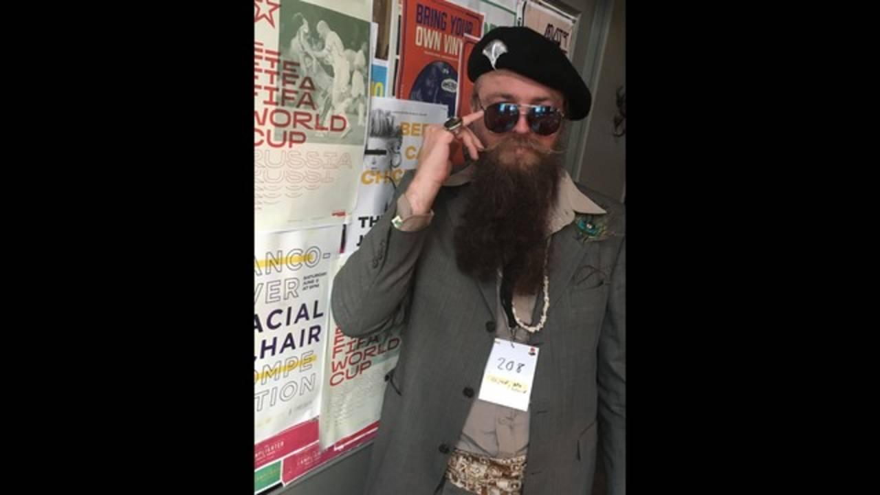Ron Wolek's award-winning beard 1