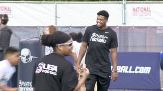 Projected 1st round pick Marcus Davenport invites family, friends to NFL draft