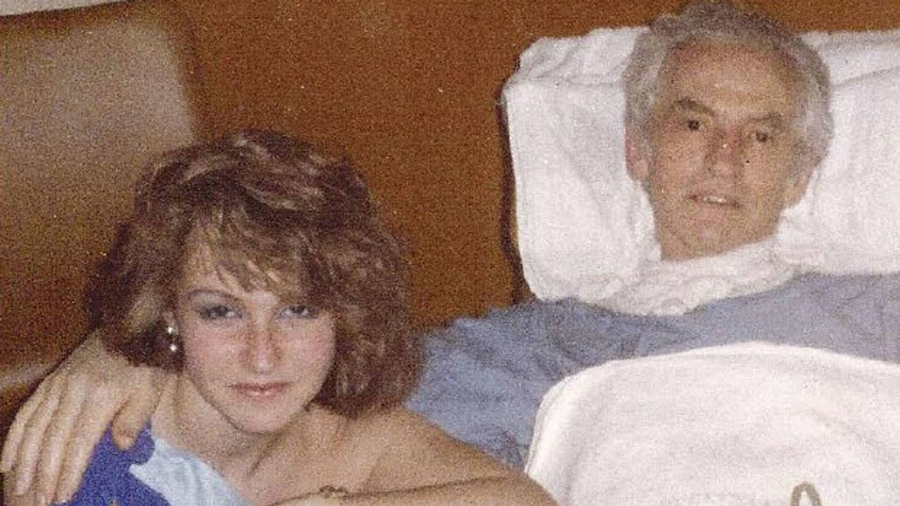 Felicia Marie Knaul and her dad