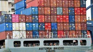 Inside one of the world's biggest container ports
