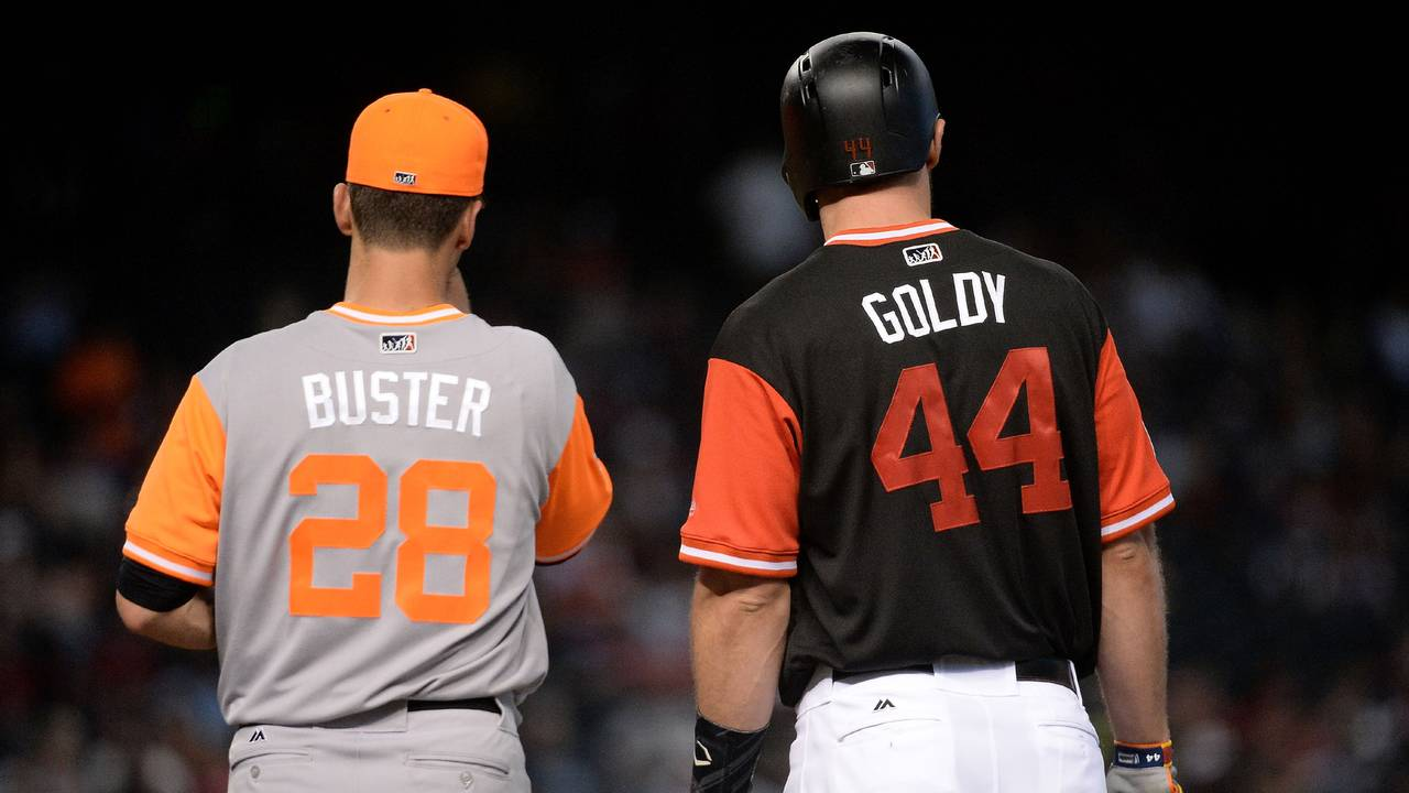 d74835c1fea Jersey nicknames to return for MLB Players  Weekend