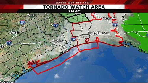 Tornado watch canceled as storms exit Houston area