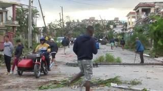 Video of tornado damage in Havana, Cuba