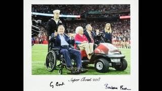 PHOTOS: Bush memorabilia up for auction to benefit LLS
