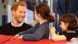 Prince Harry Bonds With Kids at London Event While Meghan Markle Has&hellip&#x3b;