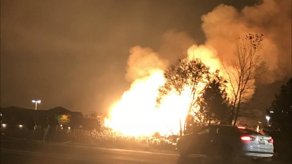 Fire in Auburn Hills