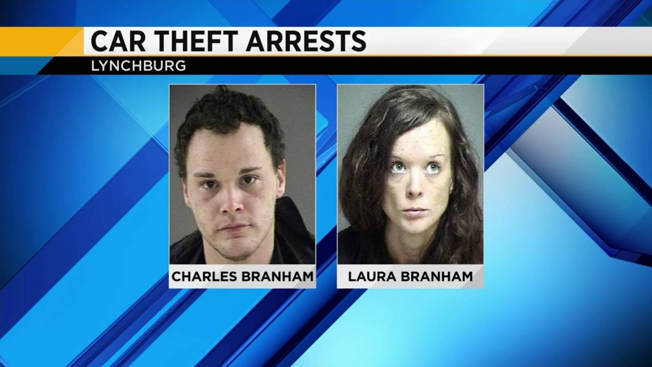 Two Arrested in Lynchburg on Charges Related to Car thefts20190203134017.jpg