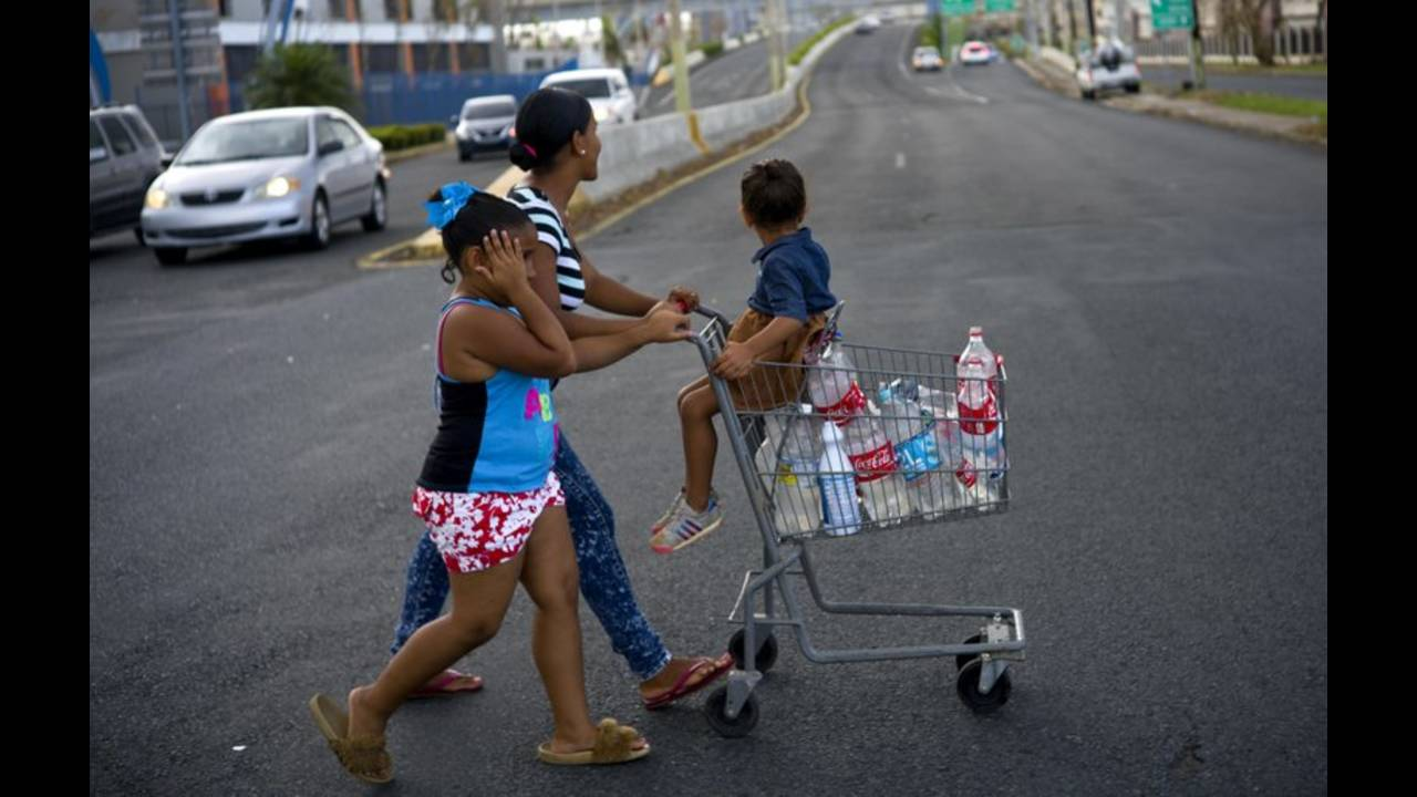 Many in Puerto Rico still lack water and food