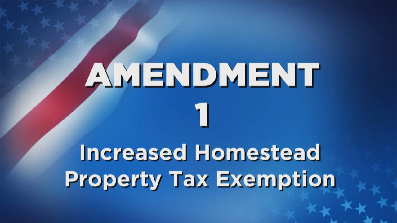 Amendment 1 Increased Homestead Property Tax Exemption