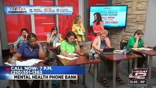 KSAT Community Mental Health Phone Bank | KSAT12