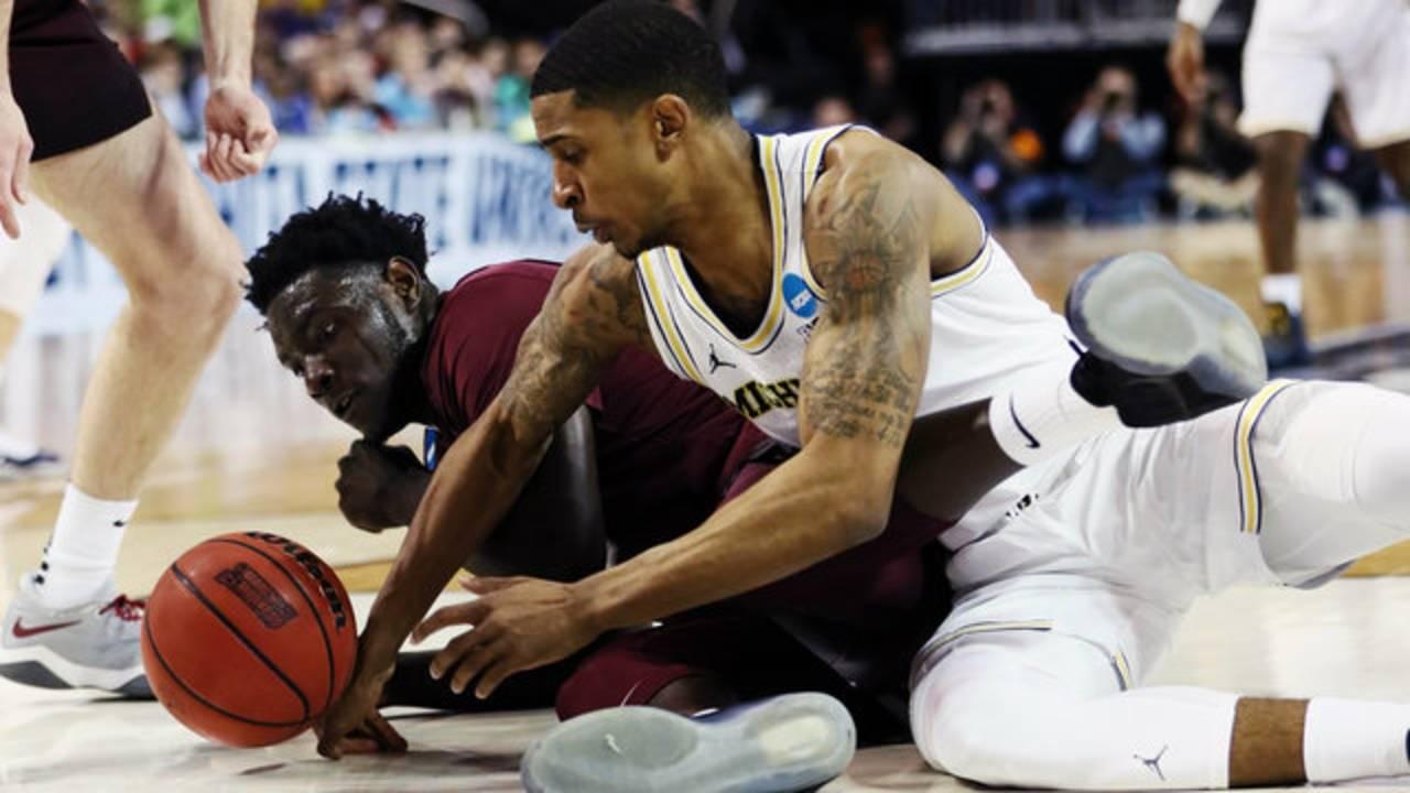 Charles Matthews Michigan basketball vs Montana 2018
