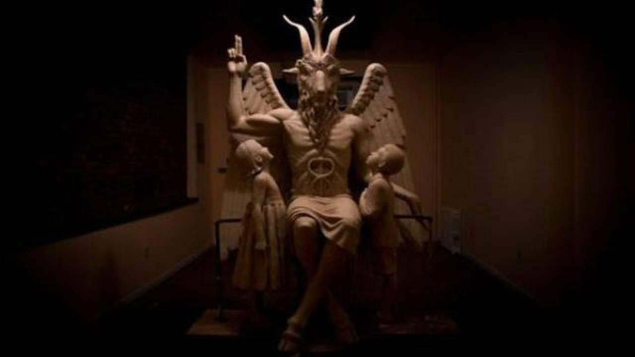 Satan Statue_34357202