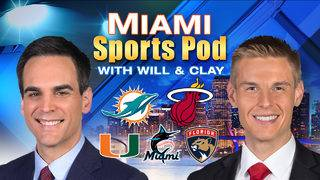 Miami Sports Pod: Wait 'til next year for Heat and Dolphins?