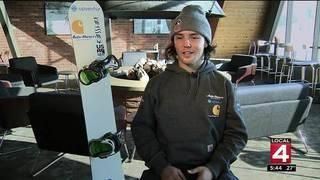 Pinckney snowboarding star hopes to make U.S. Olympic team