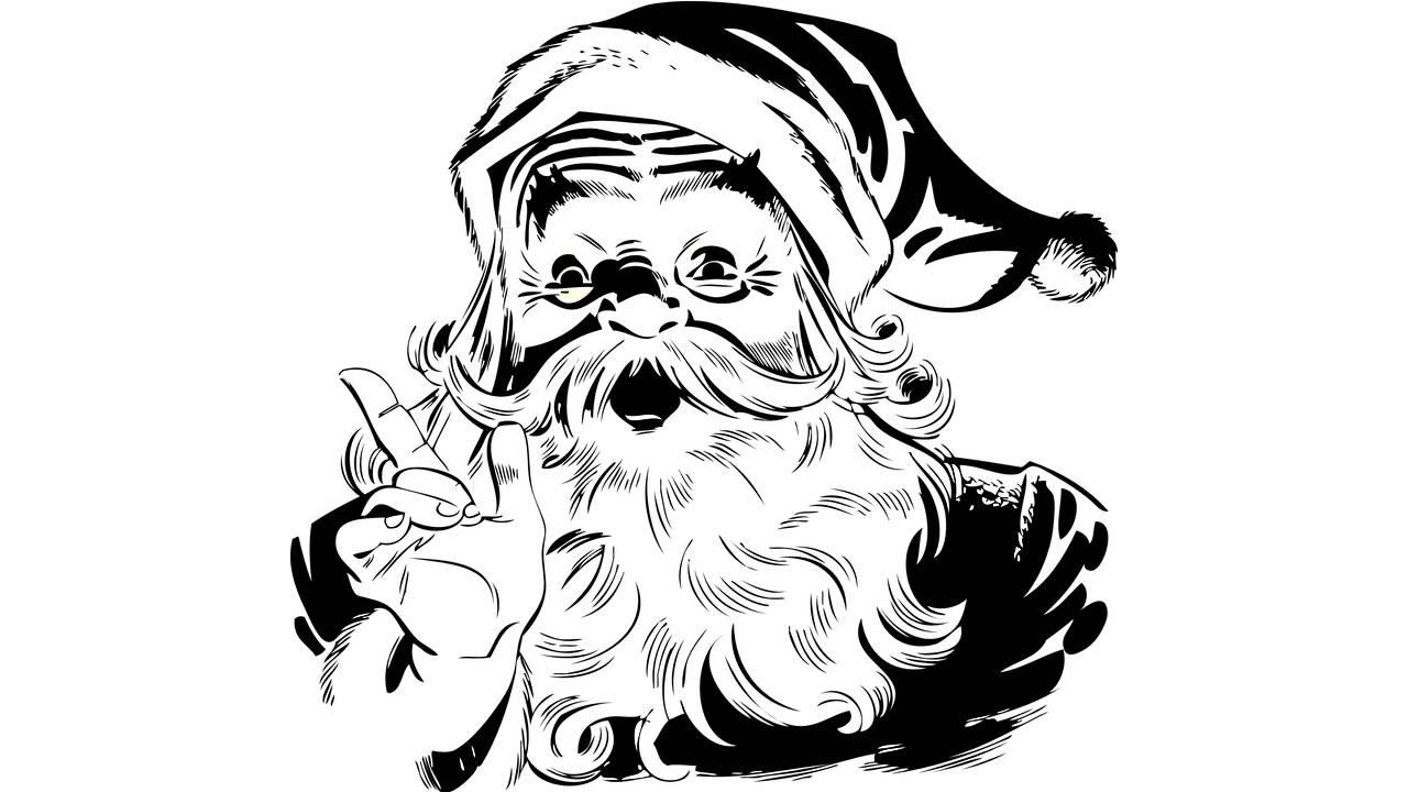 Manic Santa Claus