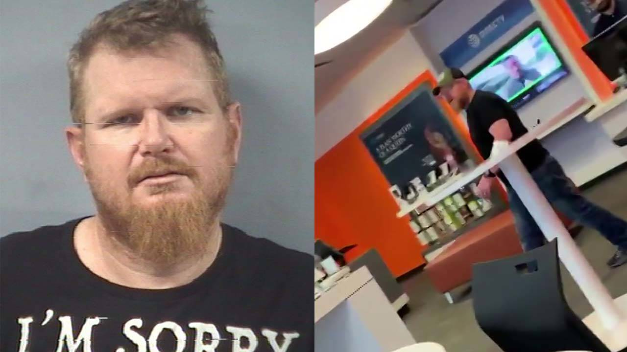 Joey Christian racist rant at phone store in friendswood