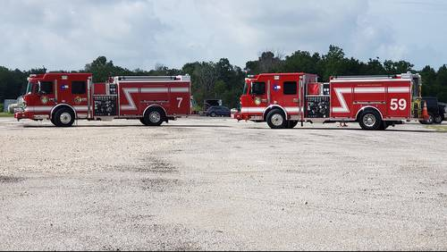 What's going on? Why 5 new fire trucks are sitting unused