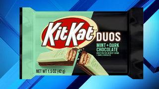 New Kit Kat mashup features two iconic flavors: mint, dark chocolate