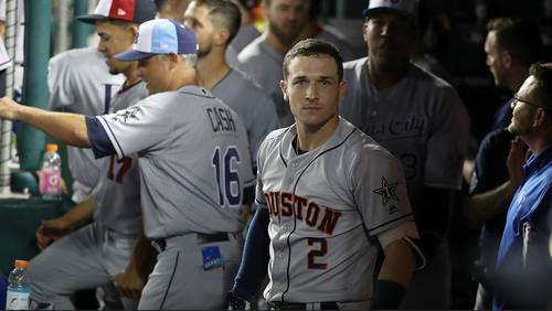 Several Astros continue to lurk near top of All-Star Game voting totals