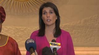 Haley: Missile debris 'proof' of Iran's UN violations