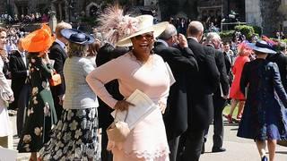 Bold and bright fashion on display at the royal wedding