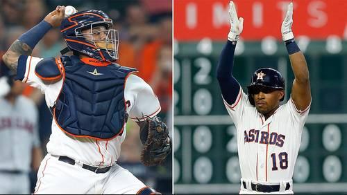 Return of 'Machete': Astros trade Tony Kemp to Cubs for Martin Maldonado