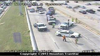TRAFFIC ALERT: US-290 shutdown in northwest Houston