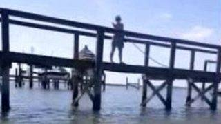 Florida man says woman hosed him down for fishing in water she owns