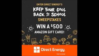 Keep Your Cool Back to School Sweepstakes