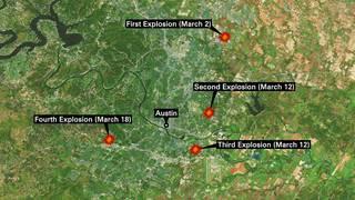 Timeline: Austin bomb attacks
