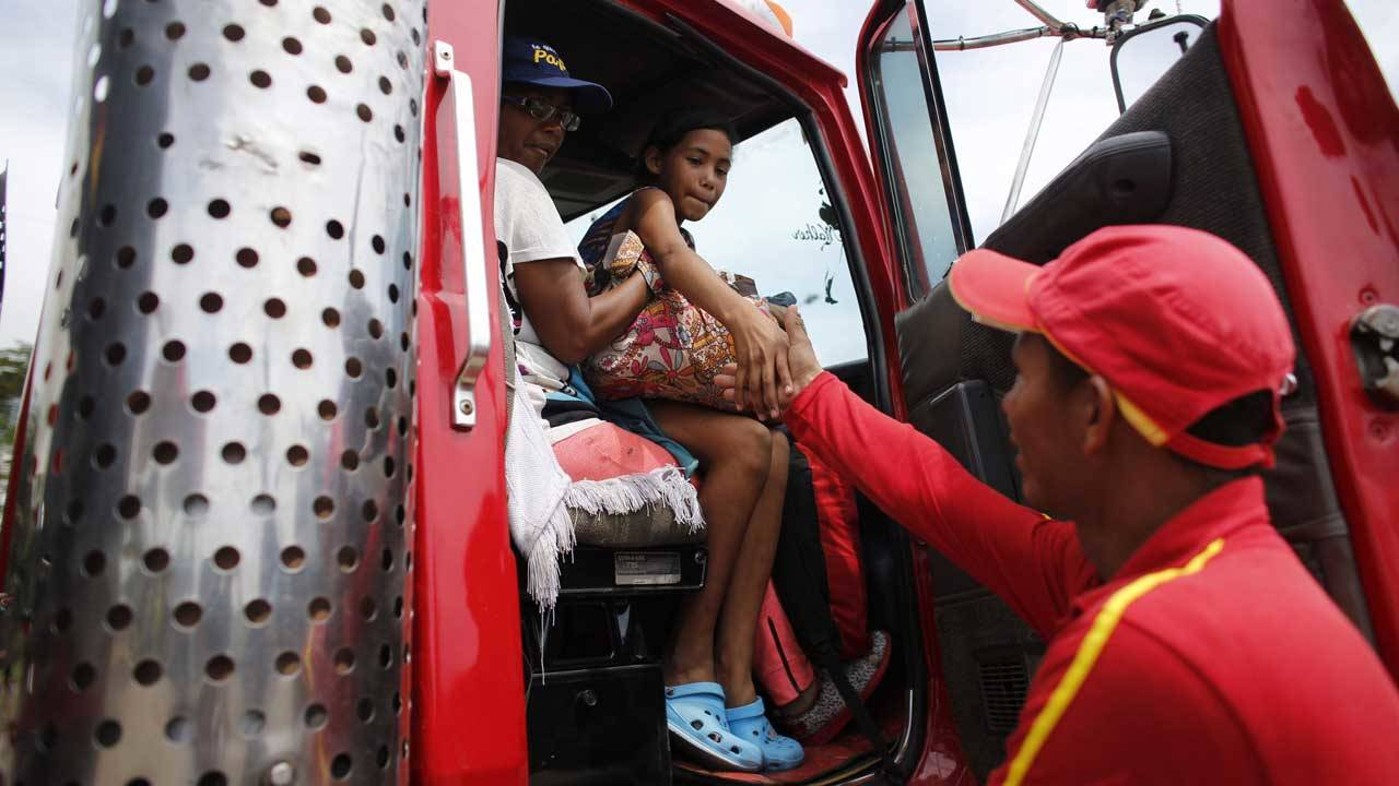Venezuelan migrant in Colombia