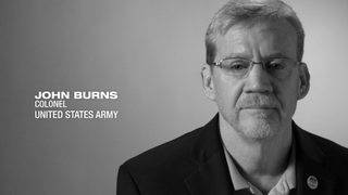 U.S. Army Colonel John Burns