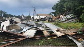 Tornado touches down in Tavares on Fourth of July, causing damage