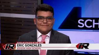 Scholar Athlete: Eric Gonzales, Edison High School