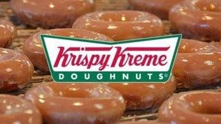 Get a dozen Krispy Kreme donuts for $1 on Wednesday