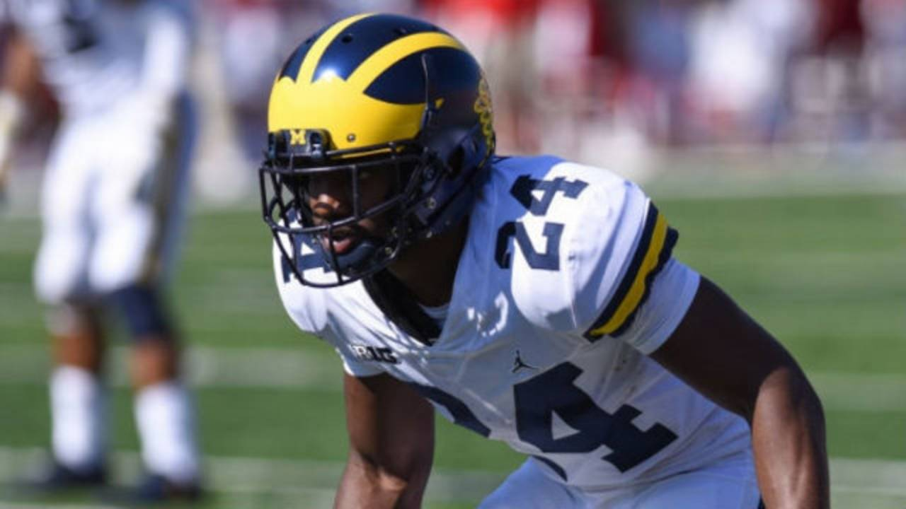 Lavert Hill Michigan football vs Indiana 2017