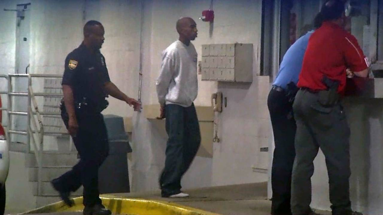 Nicholas Humphrey booked into the Duval County jail late Thursday afternoon
