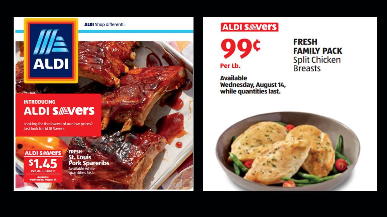 aldi ribs and chicken