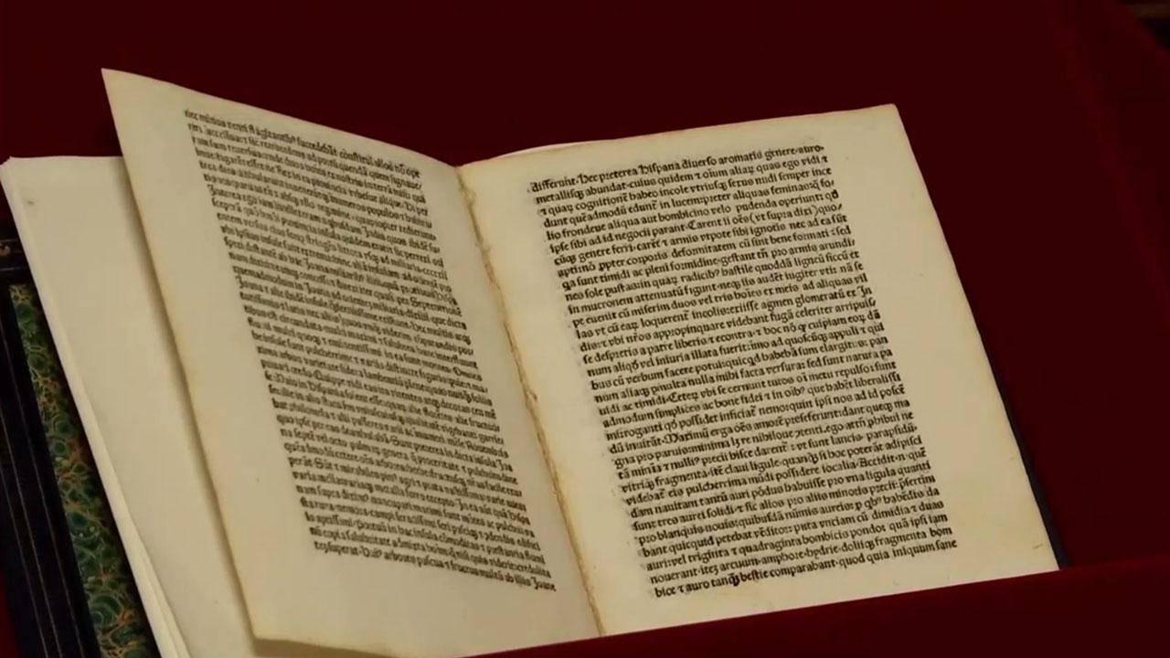 america returns stolen christopher columbus letter