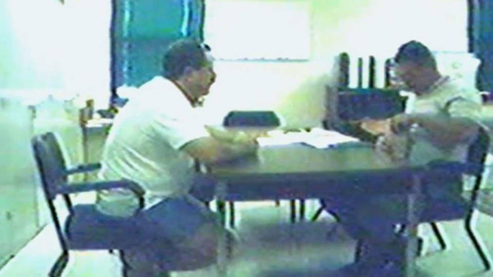 police interview George Williams